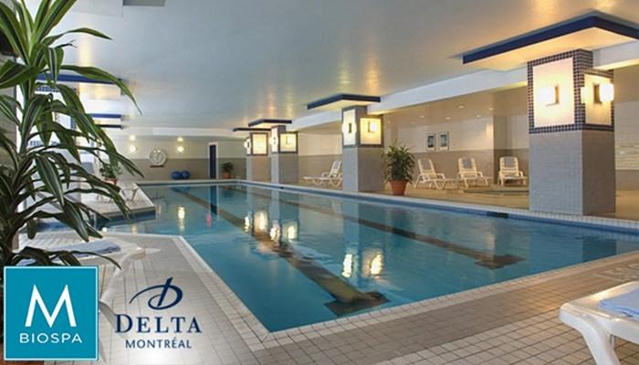 Delta Hotel Marriott Montreal Piscine